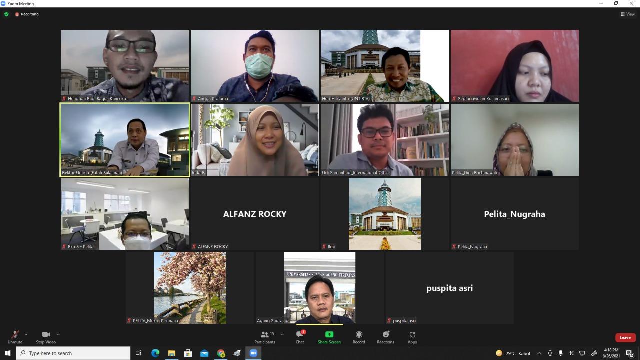 Rapat Koordinasi Progress Pengisian Borang Quesioner UIGM 2021